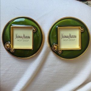 TWO Jay Strongwater Neiman Marcus Picture Frames
